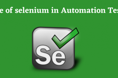 Scope of Selenium in Automation Testing